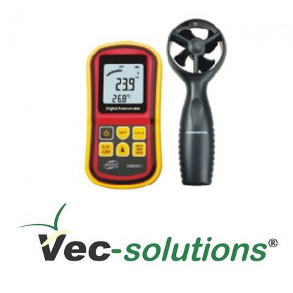 Anemômetro VEC-GM-8901 para medição de velocidade