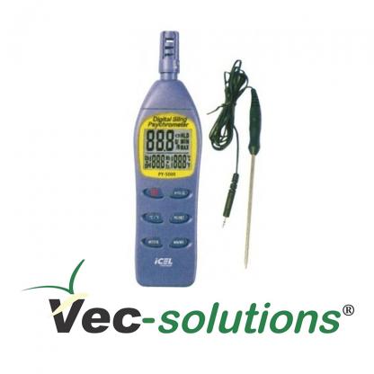 Psicrômetro Digital Icel PY 5000